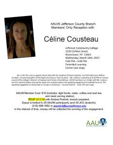 CélineCousteau Flyer to Print